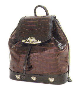 Fashion | Handbag Brown Backpack Style Purse