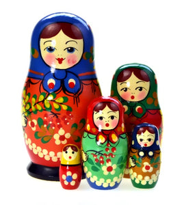 Dolls | Matryoshka Russian Nestings Dolls Zagorsk #104052-F