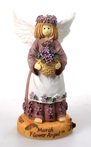 March Angel Figurine by Linda Grayson