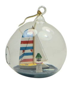Holiday | Christmas Ornaments Sailboat #17