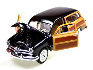 Hobby | Die-cast Black 1949 Ford Woody Toys