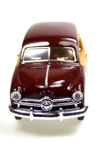 Hobby | Die-cast Burgundy 1949 Ford Woody Toys