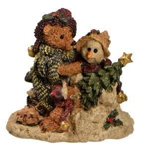 Holiday | Christmas Bears and Snowman with Star