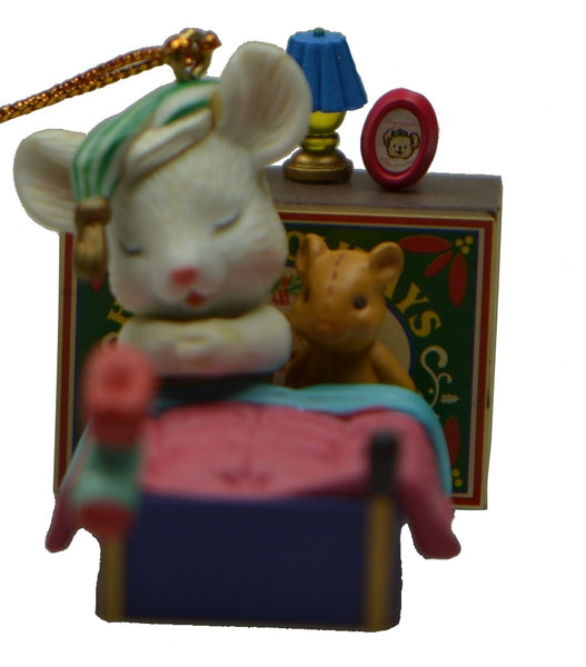Holiday | Christmas Ornaments Mouse in Match Box #20
