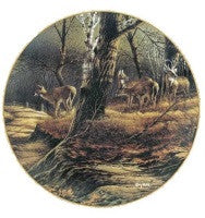 Collector Plates | Leaving the Sanctuary Deer Collector Plate by Terry Redlin
