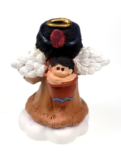 Angel Figurines Native American Style Girl