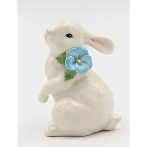 Ivory Porcelain Rabbit Figurine