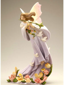 Figurines | Cloudworks Fairy Blossoms Dove Bird Figurine