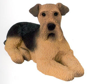 Figurines | Dog Sculpture Airedale Dog Figurine Gifts and Collectibles