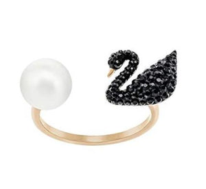 Jewelry Swarovski Swan Ring
