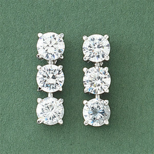 Jewelry | Brillianti Trilogy Swarovski Crystal Earrings