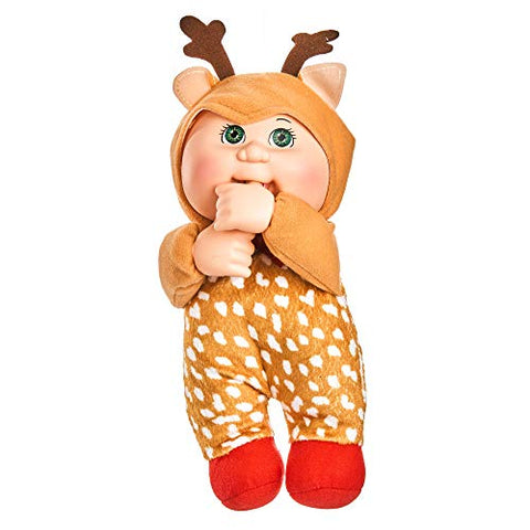 Cabbage Patch Kids Cuties Holiday Helper Collection 9 Inch Soft Body Baby Doll - Jingle Reindeer