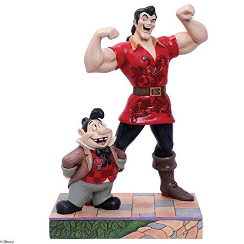 Gaston and Lefou Beauty and The Beast Jim Shore Figurine Statue