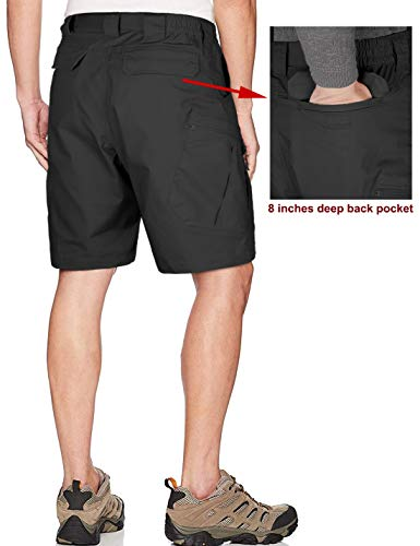 Men's Urban Tactical Shorts Waterproof Teflon Elastic Waist