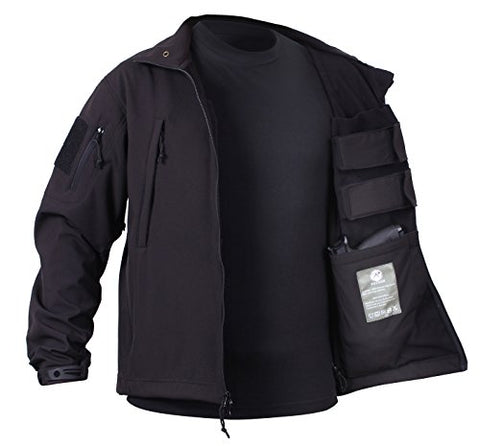 Special Ops Concealed Carry Tactical Soft Shell Jacket