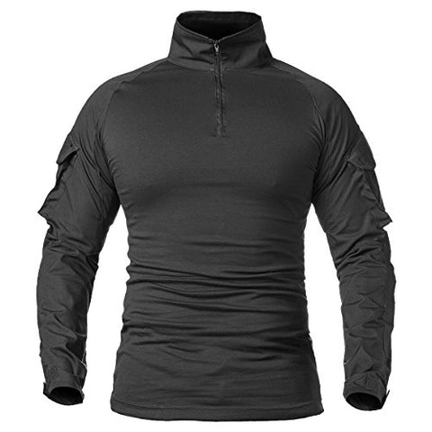 Men's Assault Military Tactical Combat Shirt Long