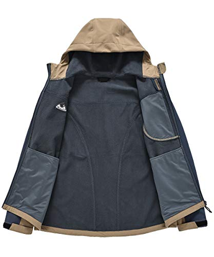 Waterproof Soft-shell Jacket Outdoor Lightweight Windproof Coat