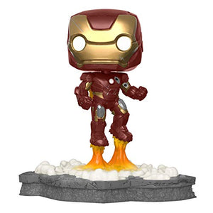 Funko 45610 Pop! Deluxe, Marvel: Avengers Assemble Series - Iron Man