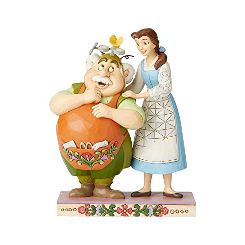 Disney Traditions by Jim Shore Belle and Maurice The Inventor Figurine