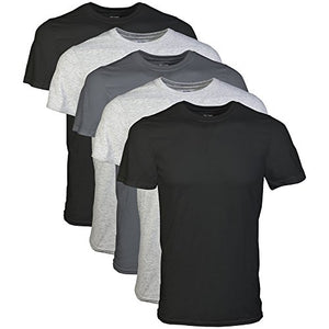 Men's Best Selling Clothes | Gildan Men's Crew T-Shirt 5 Pack, Assortment