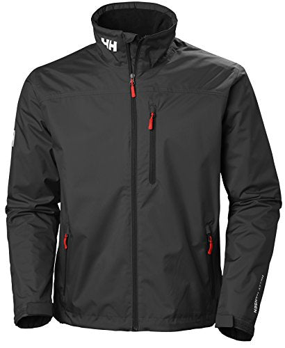 Men's Crew Fleece Lined Waterproof Windproof Rain Coat Jacket