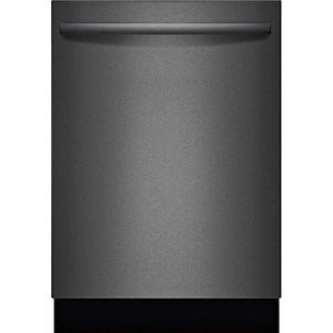 "Bosch SHXM78Z54N 24"" 800 Series Fully Integrated Bar Handle Dishwasher with 16 Place Settings, Flexible 3rd Rack, InfoLight and CrystalDry in Black Stainless Steel"