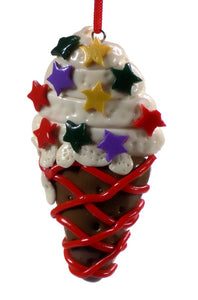 Holiday | Christmas Ornaments Ice Cream Cone #44