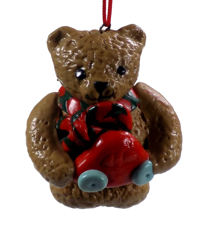 Holiday | Christmas Ornaments Bear with Car #46
