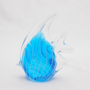 Art Glass Paperweight Blue Fish For Sale #5 | OneGreatShop.com