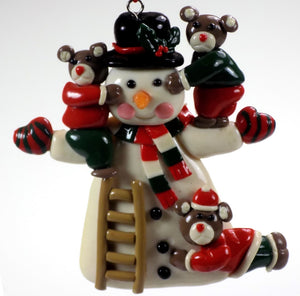 Holiday | Christmas Ornaments Snowman #50