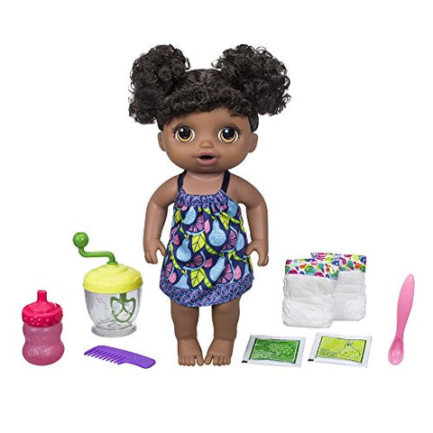 Baby Alive Sweet Spoonfuls African American Baby Doll Girl (Black Hair)