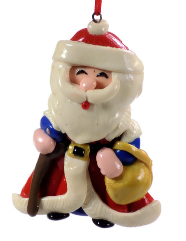 Holiday | Christmas Ornaments Santa with Bag #59