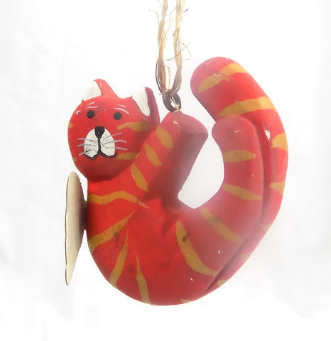 Holiday | Christmas Ornaments Angel Cat #6