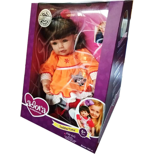 Adora | Dolls ToddlerTime Girl Doll Vinyl Baby Doll Toy with Soft Body