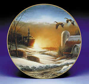 Collector Plates | Evening Prayer Collector Plate by Terry Redlin