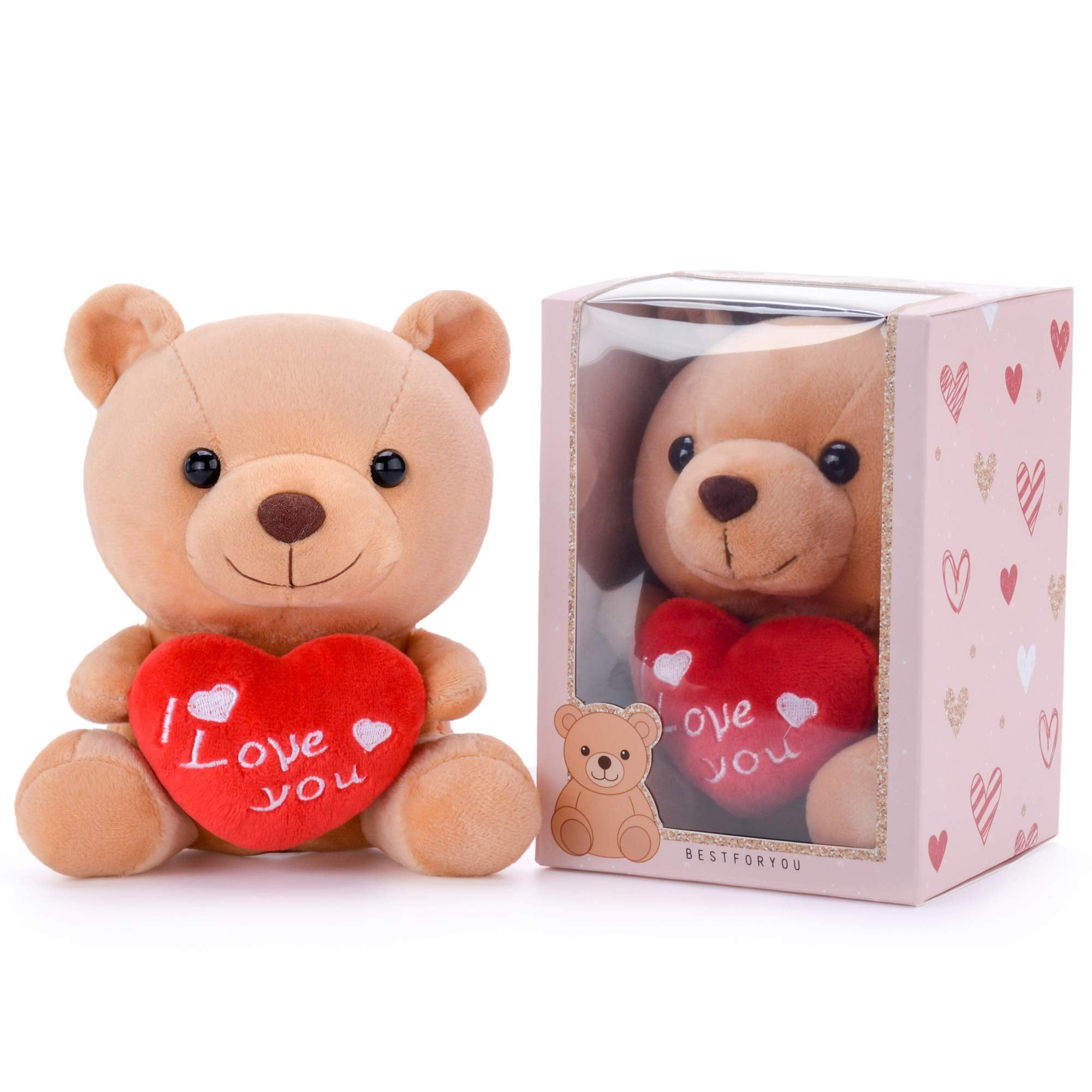 Stuffed Animal Teddy Bear Plush Toy I Love You Gift