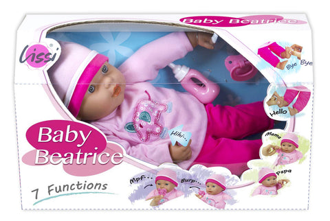 "Lissi 16"" Interactive Baby Doll with Accessories"