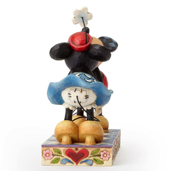 Disney Traditions by Jim Shore Mickey Mouse Kissing Minnie Figurine