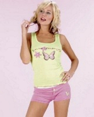 Sleepwear | Pajamas For A Social Butterfly Top and Boxer Shorts Set