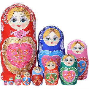 Dolls | 10pcs Russian Nesting Dolls Matryoshka