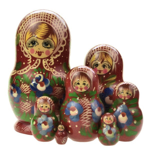 Dolls | Matryoshka Russian Nesting Dolls #8338