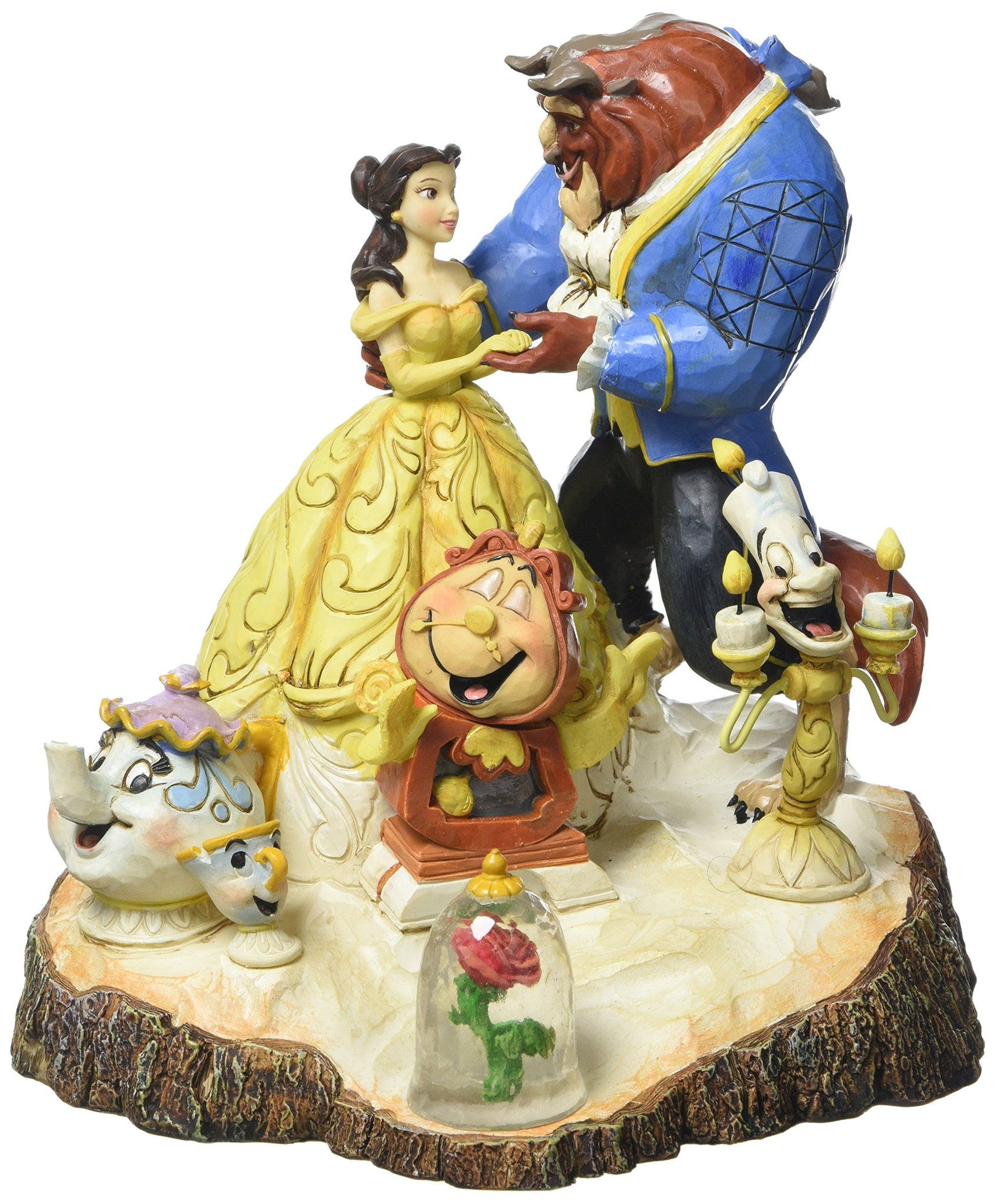 Disney Traditions by Jim Shore Beauty and the Beast Figurine