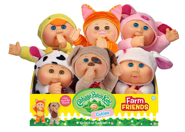 Cabbage Patch Kids Cuties Collection, Daphne the Ducky Baby Doll
