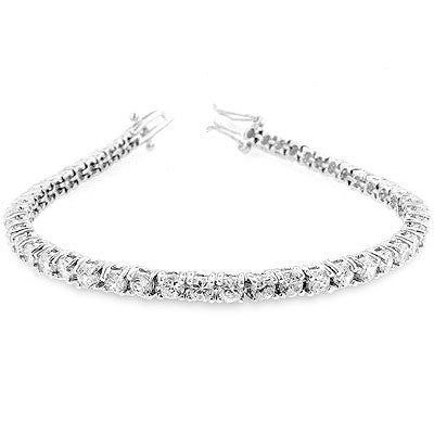 Jewelry | Clear Cubic Zirconia Tennis Bracelet