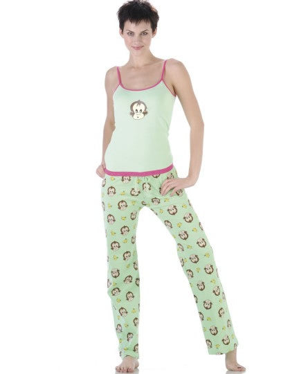 Sleepwear | Women's Monkey Pajamas Cami and Long Pants