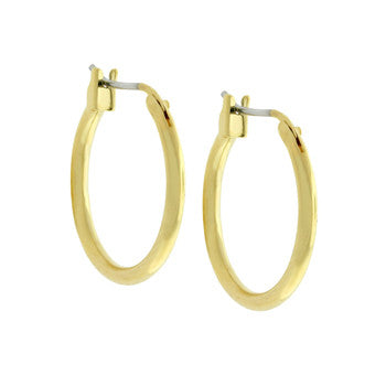 Jewelry | Goldtone Hoop Earrings