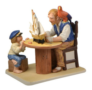 Figurines | Norman Rockwell Figurine For A Good Boy