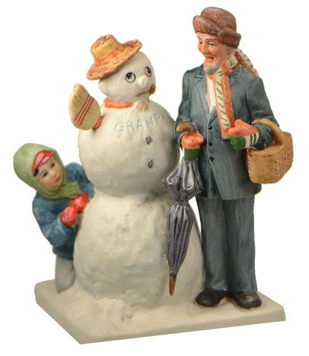 Figurines | Norman Rockwell Figurine Gramps