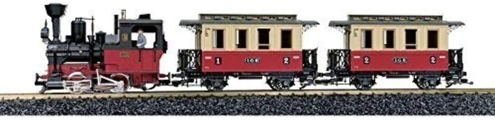 LGB Trains 72302 Passenger Starter Set, with Lights, Sound and Smoke