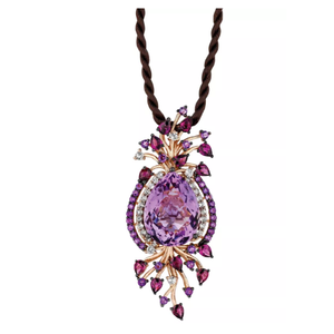 Jewelry | Le Vian's Pendant Necklace with Amethyst, Rhodolite and Topaz